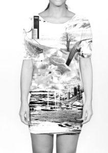 Art -shirt in samenwerking met Eks'kwizit